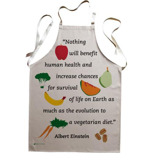 Einstein Vegetarian premium apron