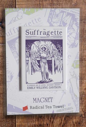 Emily Davison fridge magnet