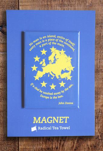 Europe fridge magnet
