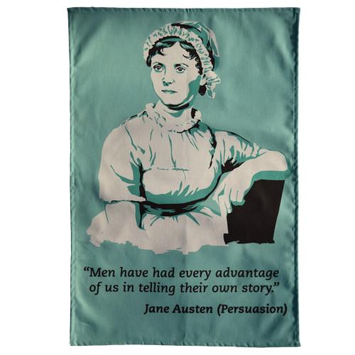 Jane Austen Persuasion tea towel