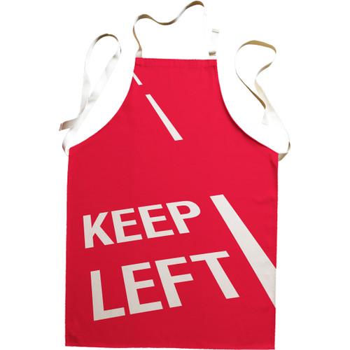 Keep Left premium apron