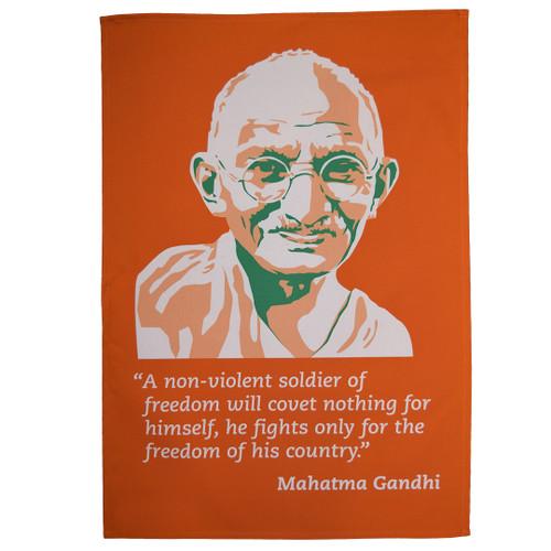 Mahatma Gandhi tea towel