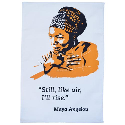 Maya Angelou 'Still I rise ' tea towel