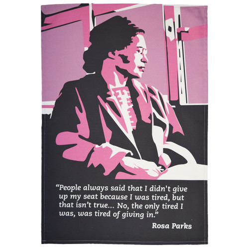 Rosa Parks tea towel