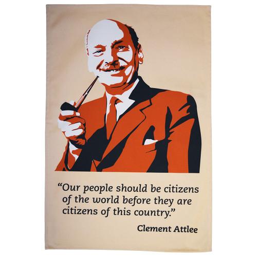 Clement Attlee tea towel