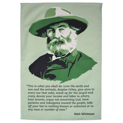 Walt Whitman tea towel