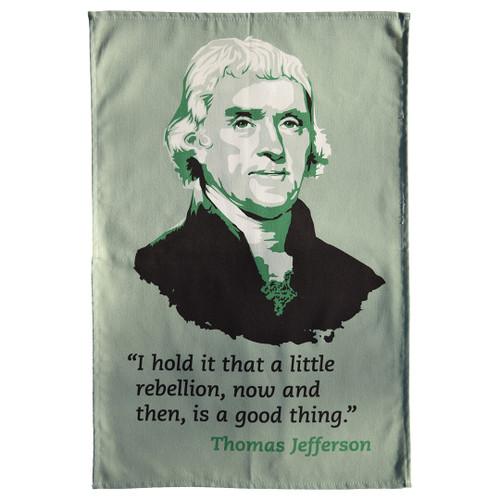 Thomas Jefferson tea towel