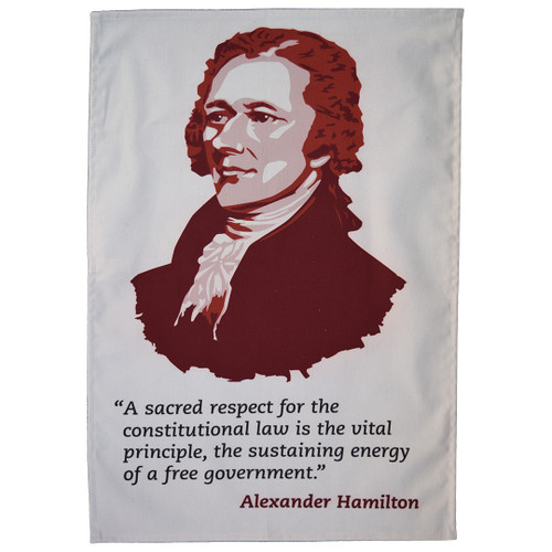 Alexander Hamilton tea towel