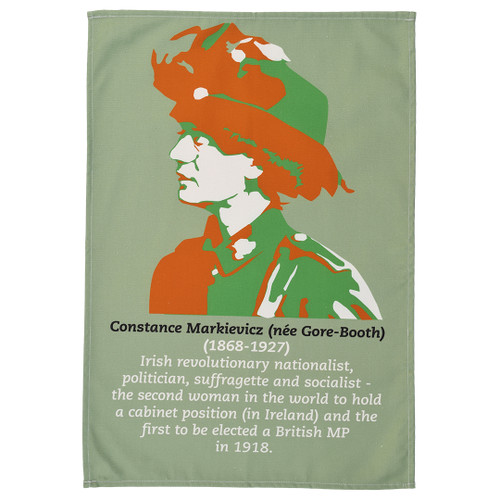 Constance Markievicz tea towel