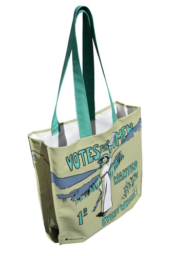 Votes for Women Wanted tote bag