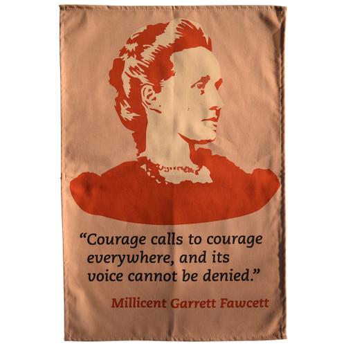 Millicent Fawcett tea towel