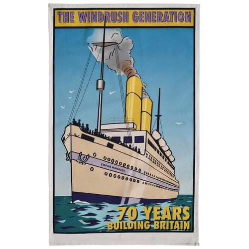 Windrush Generation tea towel