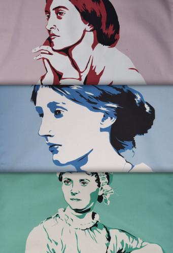 Women Writers tea towel collection