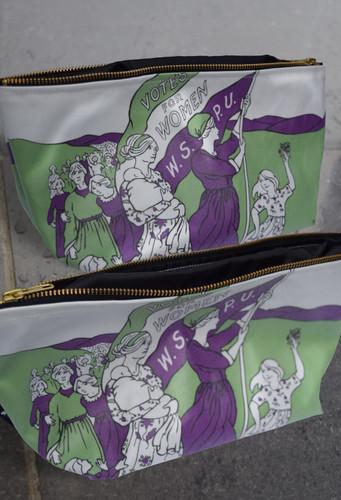 Women's March shower bag