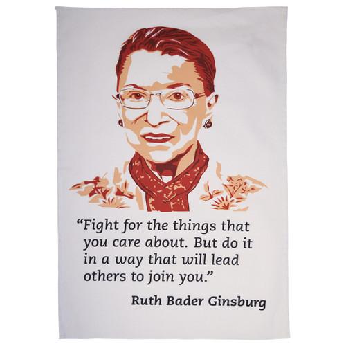Ruth Bader Ginsburg tea towel
