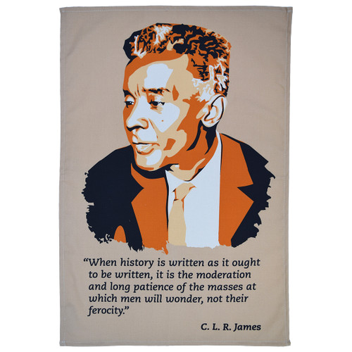 C L R James tea towel