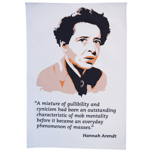 Hannah Arendt tea towel