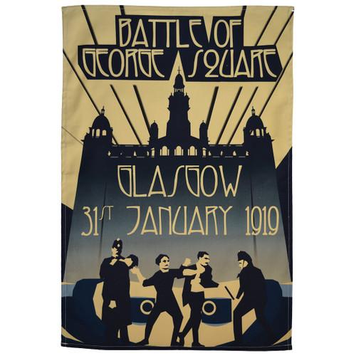 Battle of George Square tea towel