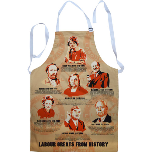 Labour Greats of History apron