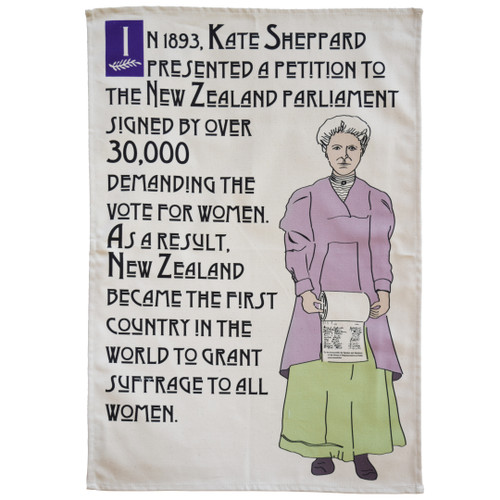 Kate Sheppard Suffrage Petition tea towel
