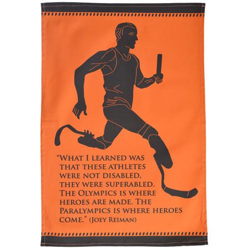 Paralympic Heroes tea towel