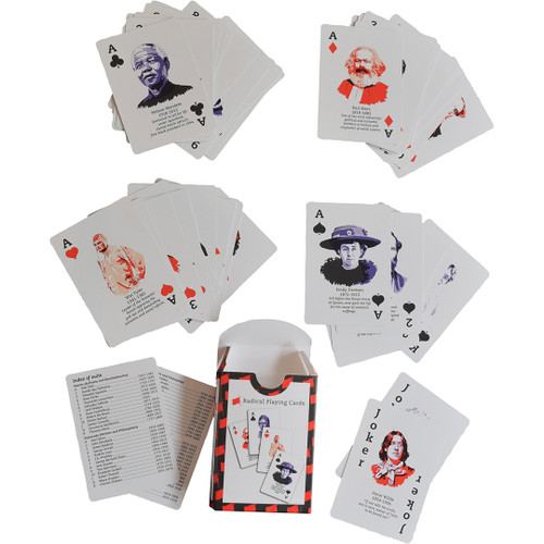 Radical playing cards