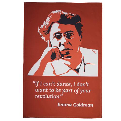 Emma Goldman tea towel