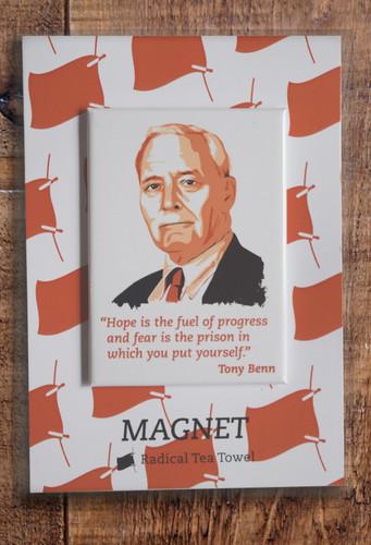 Tony Benn fridge magnet