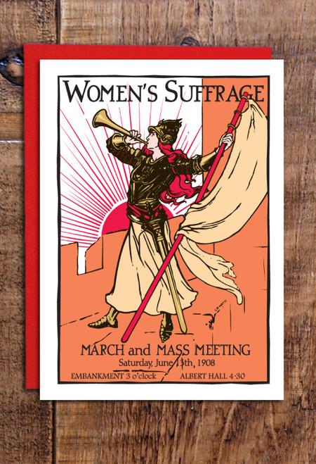 Bugler Girl greetings cards