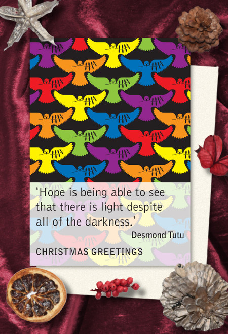 Desmond Tutu Christmas cards pack of 8