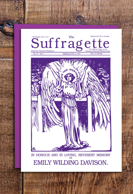 Emily Davison greetings cards