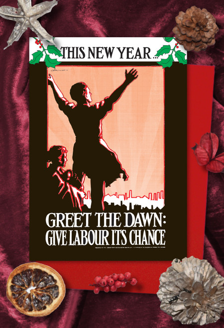 Greet the Dawn Labour Christmas cards pack of 8