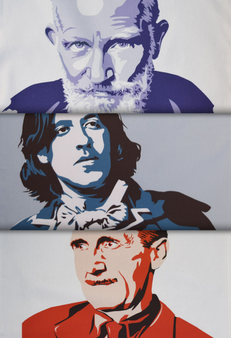 Radical Writers tea towel collection