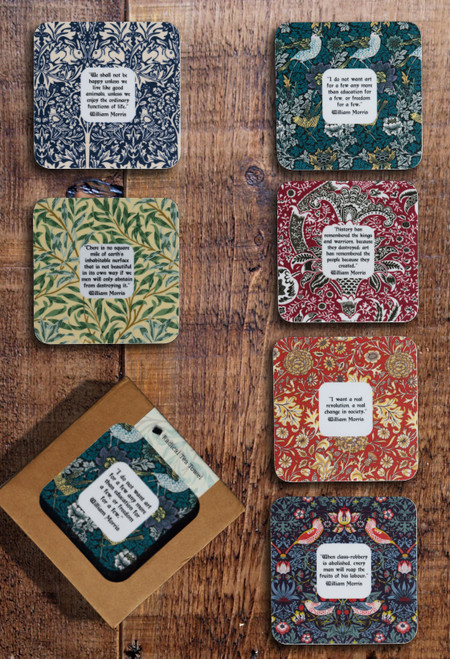 William Morris Radical coaster collection, set of 6
