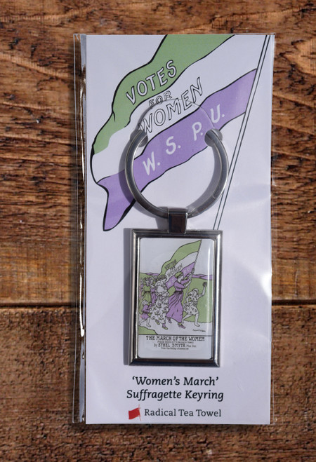 Women's March key ring