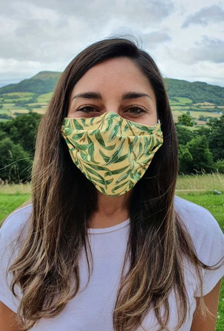 Willow Bough face mask with elastic (3 ply)