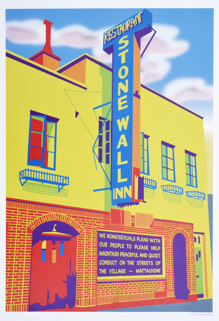 Stonewall Inn Gay Rights poster