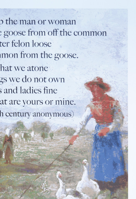 17th Century Enclosures Rhyme poster