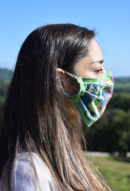 Greenham Common face mask with elastic