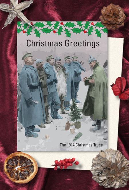 1914 Truce Christmas cards pack of 8