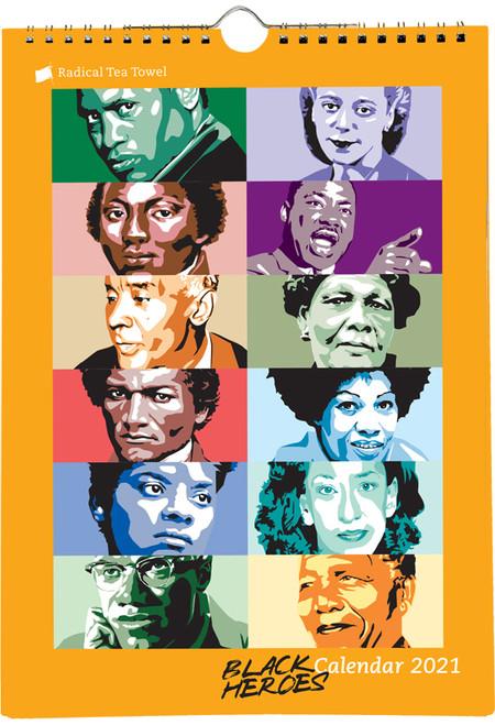 Black Heroes Calendar 2021