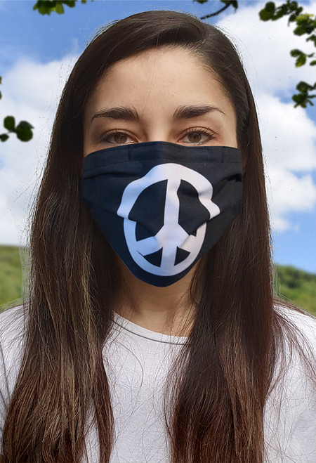 CND face mask with elastic