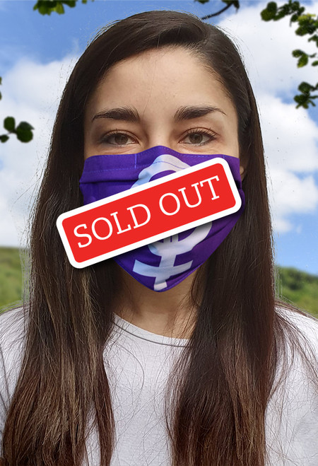Feminism face mask with elastic