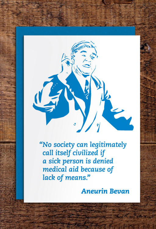 Aneurin Bevan Cards Pack Of 8