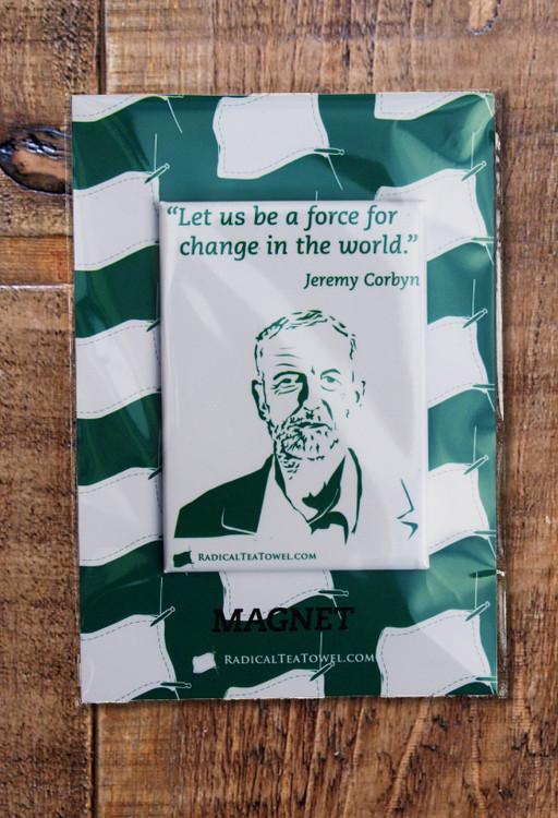 Jeremy Corbyn fridge magnet