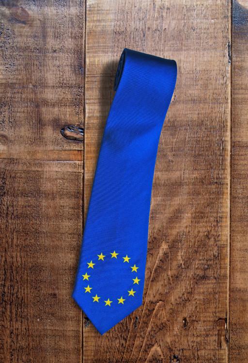 Europe handmade silk tie