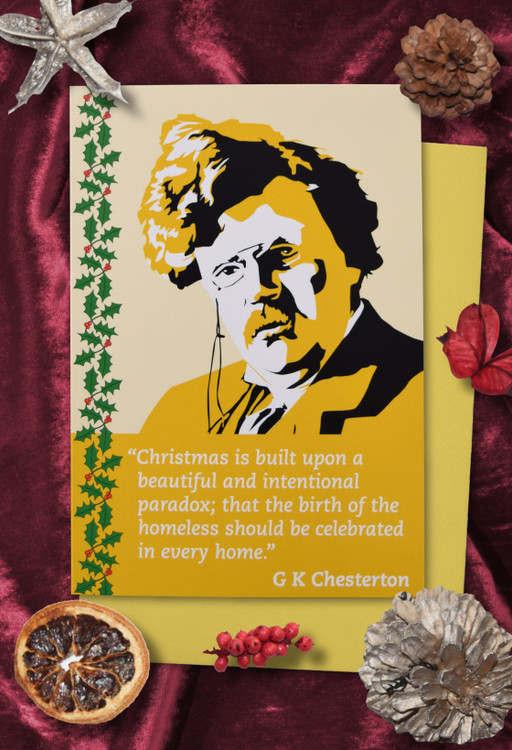 Radicals at Christmas: G K Chesterton Christmas cards pack of 8