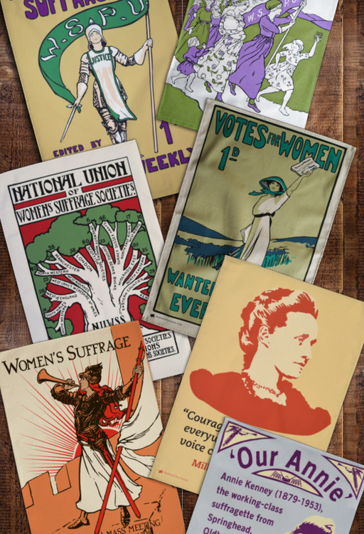 Tea towel subscription: Women's Suffrage