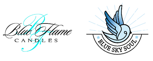 Blue Flame Candles