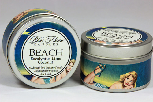 Beach Travel Tin